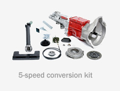 Full 5 speed gearbox kit 948/1098cc with 1275cc engine